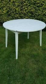 Vintage/retro formica drop leaf table aeats 4. Vgc