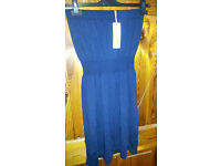 size 8 beach dress x 2 coral & navy both new with tags
