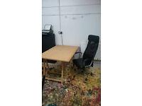 Desk Space in friendly studio - Preston Circus - £120pcm incl.