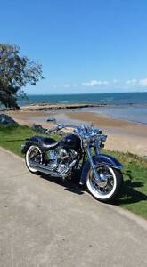 2008 SOFTAIL DELUXE HARLEY DAVIDSON North Lakes Pine Rivers Area Preview