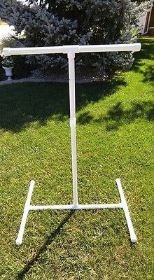 "NEW 1"" Textured PVC Parrot  FLOOR PERCH  STAND  Birds Love Them! FREE SHIPPING!"