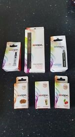 bargain vape pen with charger...spare tank..disposable battery..3 flavours