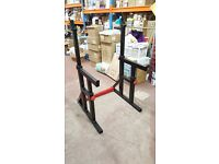 BODYMAX CF415 SQUAT RACK WITH ADJUSTABLE BENCH- GREAT CONDITION