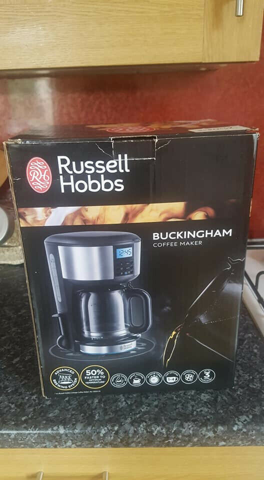 Russell Hobbs Buckingham Filter Coffee Machine In Aberdeen Gumtree