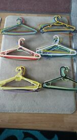 Colourful hangers