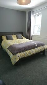 Double Bed Frame Solid Wood