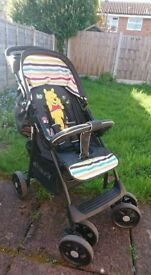 Hauck folding pushchair, very good condition