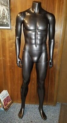 Official Under Armour Fiberglass Full Size Male Mannequin-athletic Size Medium