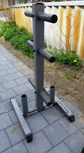 3 tier weight tree with room for two bars Eden Hill Bassendean Area Preview