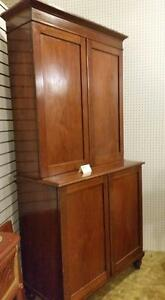 Solid Mahogany Blind Flat to the Wall reg 995.00 NOW $749.00 Strathroy Antique Mall