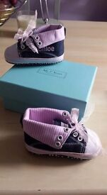 Brand new baby shoes - Chloe!