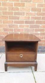 Vintage Stag bedside cabinet