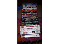 Over 100 VHS tapes needing good homes