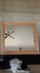 Large natural/live edge framed mirror. Gnarwarre Surf Coast Preview