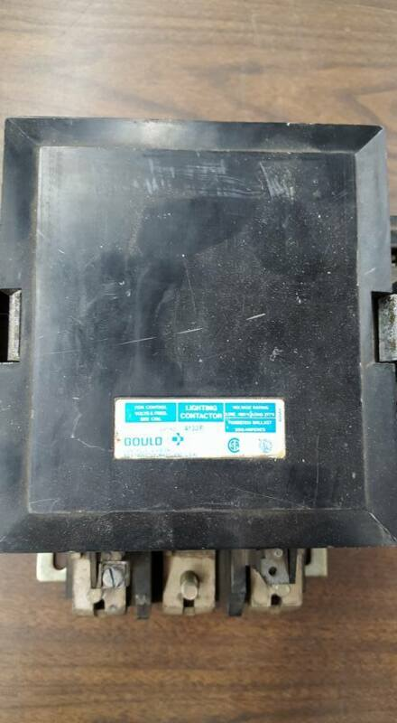 GOULD A133F LIGHTING CONTACTOR   W336