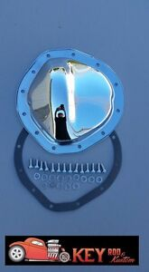 12 bolt chrome differential rear end cover Chevy GM C10 blazer K10 8.75