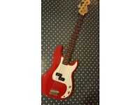 Squier P-Bass for sale - £72