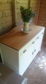 Vintage Oak Farmhouse Dresser