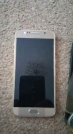 Samsung galaxy s6 needs new digitizer as it's cracked For sale or swap. pick up only bolton