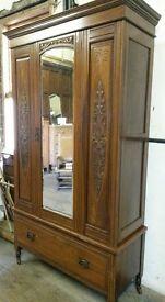 Antique Edwardian Wadrobe