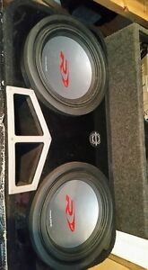"Alpine 12"" Type R's with Ported Box"