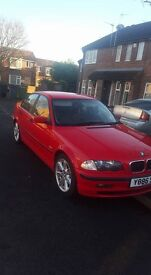 BMW 3 series 1.9 petrol full black leather service history may swap