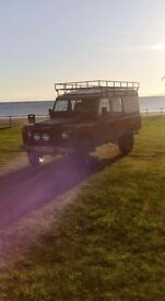 Land rover series 3 109 v8 stage 1