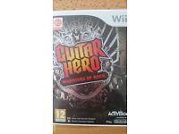 Guitar Hero Warriors of Rock for Nintendo Wii