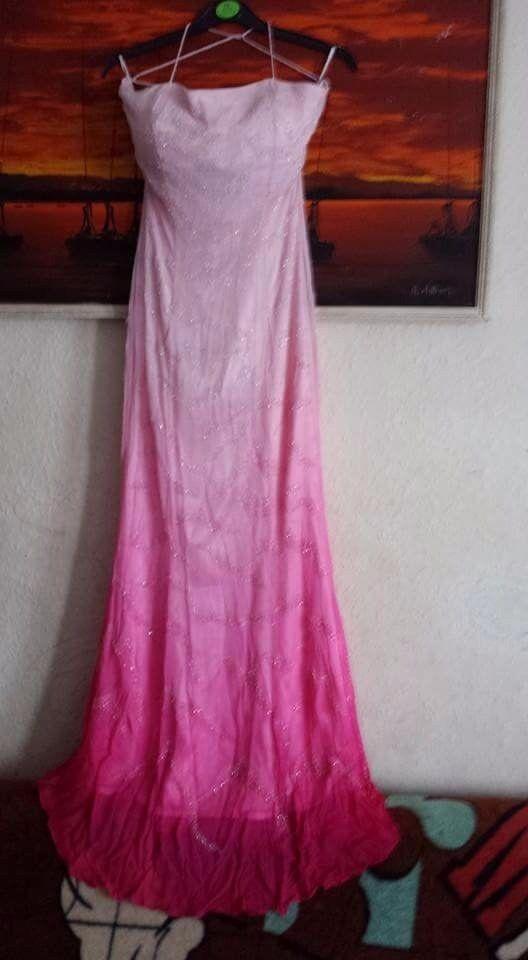 Pink vinted vintage dress evenimg dress