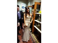 Size 8, Champagne colour, Lipsy Ball Gown