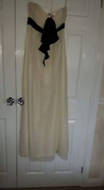 Ted Baker Ivory strapless Maxi dress. Brand new with tags. Gorgeous dress perfect for any occaaion.