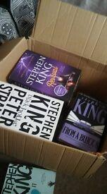 Lot of 30+ Stephen King books