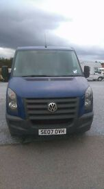 for sale this vw crafter van