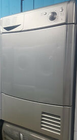 a382 silver indesit 7kg condenser dryer comes with warranty can be delivered or collected