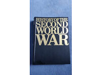 History of the Second World War - Eight Volumes (Purnell)