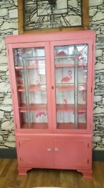 Pink Gin cabinet