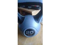 20kg Vinyl Kettlebell For Sale