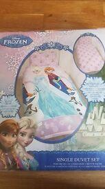 Frozen single duvet cover bedset BRAND NEW
