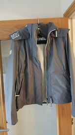 SUPERDRY grey ladies jacket