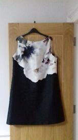 Ladies wallis size 16 party dress