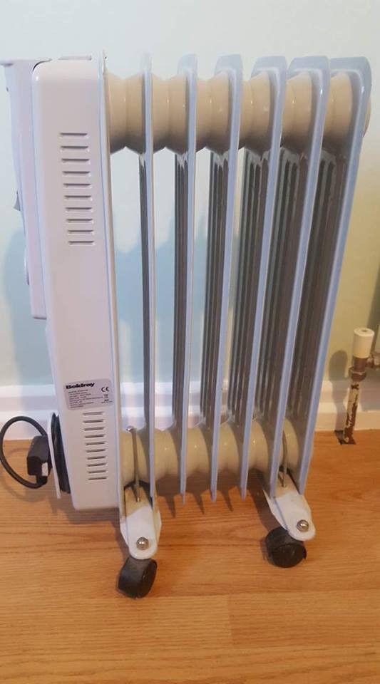 Beldray EH0564WK 7 fin oil filled radiator