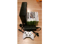 Xbox 360 250 GB Console,2 Controllers,11 Games, Good Working Condition
