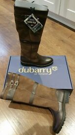DUBARRY LADIES LONGFORD BOOTS SIZE 40 /6 UK BRAND NEW IN THE BOX