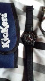 Rare Kickers 90s watch