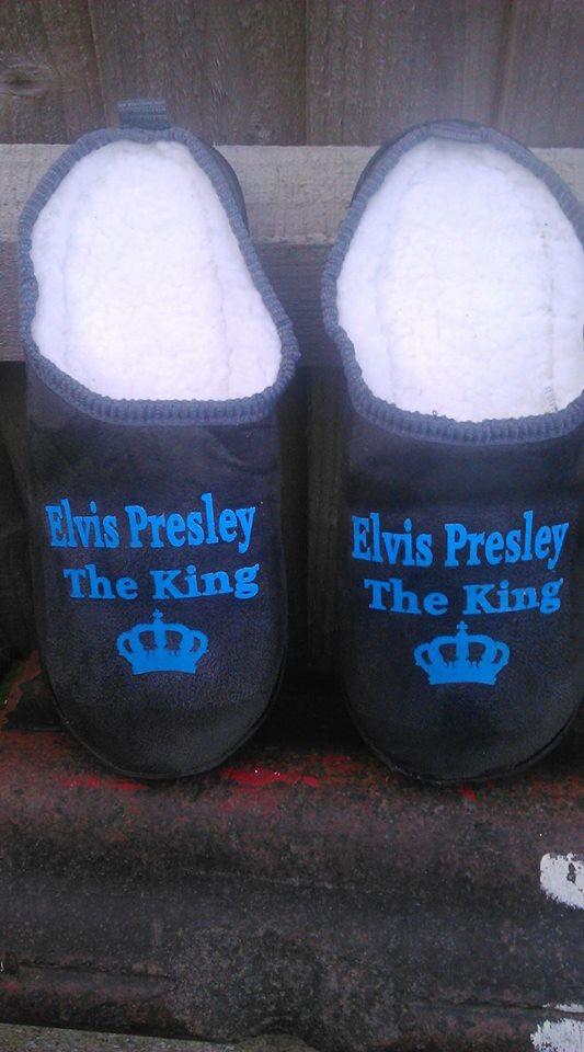 Elvis Presley mule Slippers (NEW)