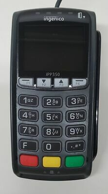 Ingenico Ipp350 Point Of Sale Payment Terminal Pin Paddebitcredit Card Reader