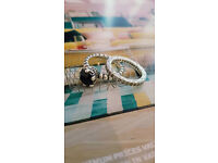 2 Genuine Pandora Stacking Rings, Limited Edition, Discontinued RRP £120+