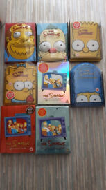 boxed dvd simpsons sets