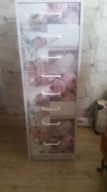 shabby chic lovely tall drawers