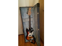 Harley Benton Jazz Bass with Hard Case